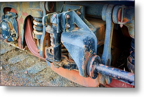 Evanston Metal Print featuring the photograph The Roundhouse Evanston Wyoming Dining Car - 4 by Ely Arsha