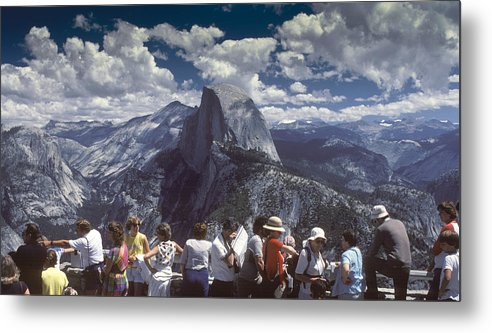 Half Dome Metal Print featuring the photograph A Day At The Park by Joe Palermo