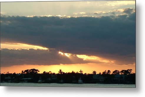 Sun Metal Print featuring the photograph Peaceful Light by Tammy More