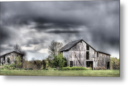 Ominous Metal Print featuring the photograph Ominous by JC Findley