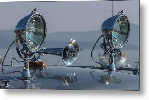 H2omark Metal Print featuring the photograph Thunderbird by Steven Lapkin