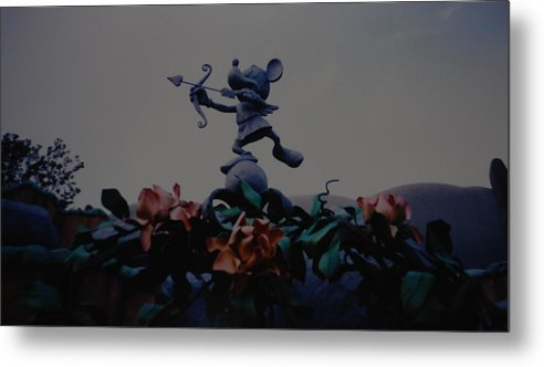 Micky Mouse Metal Print featuring the photograph Mickey Mouse by Rob Hans