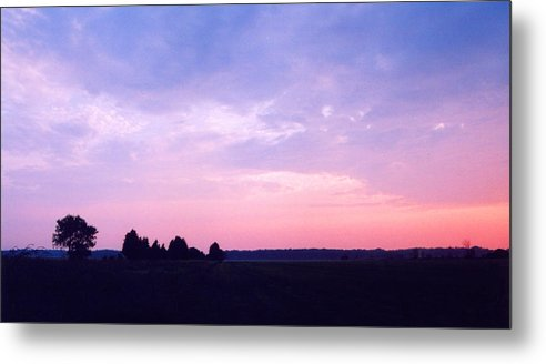 Sunset Metal Print featuring the photograph Ontario Sunset 3 by Lyle Crump