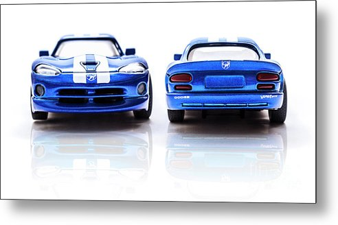 Automotive Metal Print featuring the photograph Double The Sting by Jorgo Photography - Wall Art Gallery