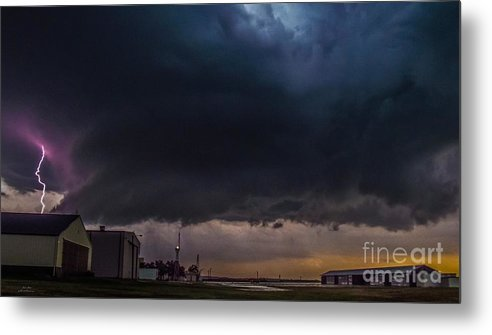 Supercell Metal Print featuring the photograph Arkansas City Beast 2 by Jesse Post
