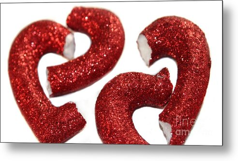 Heart Metal Print featuring the photograph Broken Heart by Henrik Lehnerer