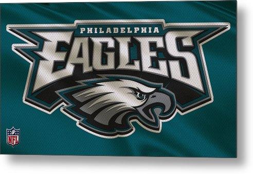 Eagles Metal Print featuring the photograph Philadelphia Eagles Uniform 2 by Joe Hamilton