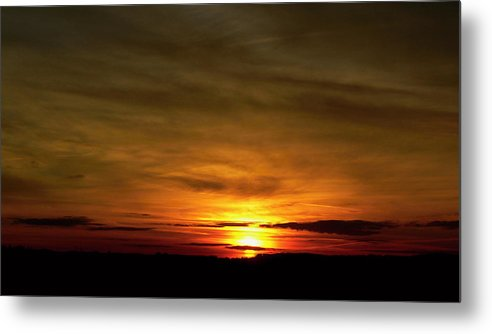 Sunset Metal Print featuring the photograph 674. by Pavel Jankasek