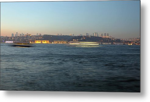 Istanbul Metal Print featuring the photograph Bosphorus by Recep Suha Selcuk