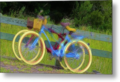 Still Life Metal Print featuring the digital art Forever Together by Chick Phillips