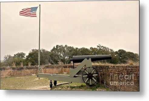 Fort Metal Print featuring the photograph Fort Barrancas Pensacola by JoNeL Art
