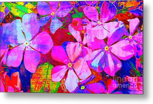 Flowers Metal Print featuring the photograph Garden Of Hope 002 by Robert ONeil