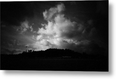 Tree Metal Print featuring the photograph Getting Late by Mhiss Little