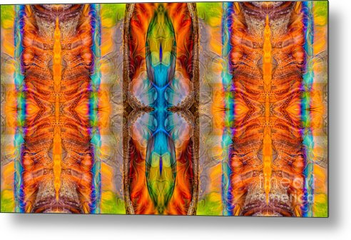 16x9 Metal Print featuring the digital art Great Spirit Abstract Pattern Artwork By Omaste Witkowski by Omaste Witkowski