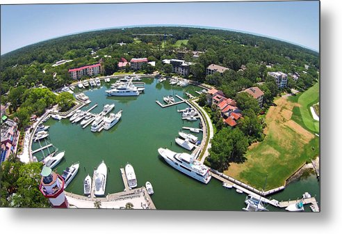 Harbor Town Metal Print featuring the photograph Harbor Town 6 In Hilton Head by Duane McCullough
