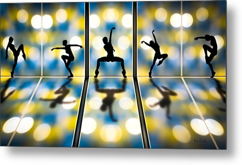 Dance Metal Print featuring the digital art Joy Of Movement by Bob Orsillo