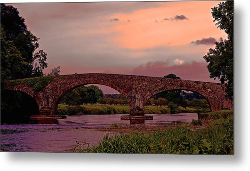 Bridge Metal Print featuring the photograph Kilsheelan Bridge by Lisa Fortin Jackson
