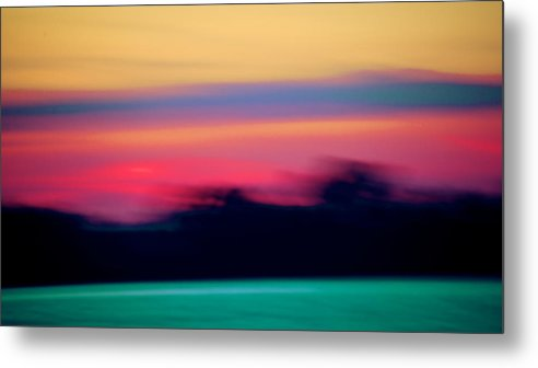 Landscape Metal Print featuring the photograph Lake Erie Sunset - II by Alejandro Gutierrez