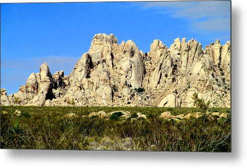 Mojave Metal Print featuring the photograph Mojave National Preserve by Randall Weidner