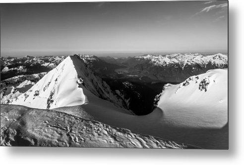 Landscape Metal Print featuring the photograph Mount Garibaldi Summit by Ian Stotesbury