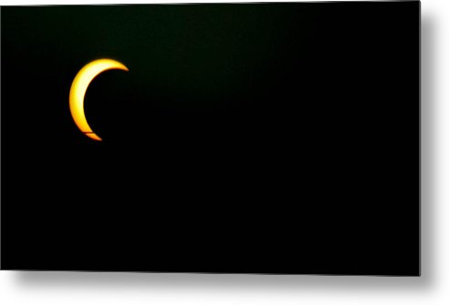Solar Eclipse Metal Print featuring the photograph Solar Eclipse 2012 by Angela J Wright