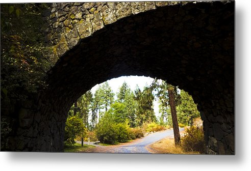 Stone Metal Print featuring the photograph Stone Arch by Duy Dang