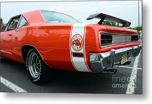 1970 Dodge Super Bee Metal Print featuring the photograph 1970 Dodge Super Bee 2 by Paul Ward