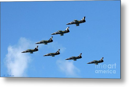 Breitling Metal Print featuring the photograph Breitling In The Air 04 by Arik Baltinester