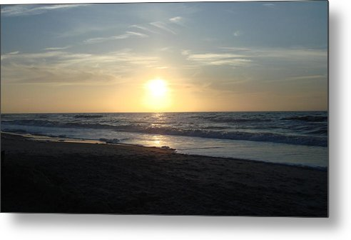 Landscape Metal Print featuring the photograph Calm Sunrise by Marcus Hudson