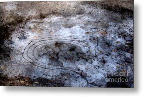 Autumn Canvas Prints Metal Print featuring the photograph Ice Figures by Pauli Hyvonen