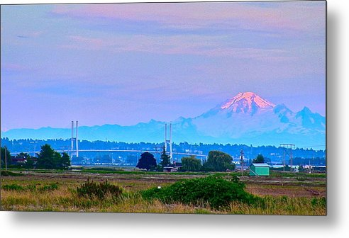 Mt Baker Metal Print featuring the photograph Sleeping Giant by Kevin Fairbridge