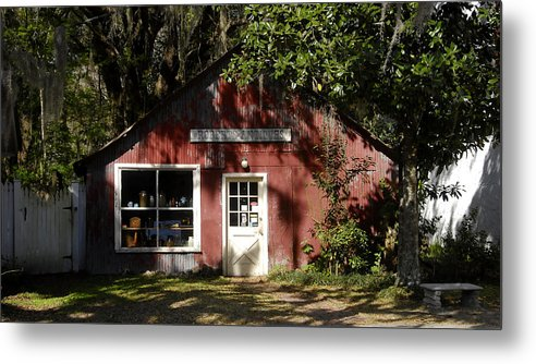 Anique Store Metal Print featuring the photograph The Old Antique Store by David Lee Thompson