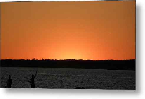 Sunset Metal Print featuring the photograph Sunset Old Saybrook by Steven W Rand