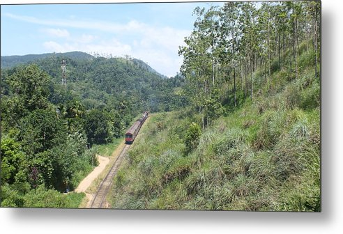 Landscape Metal Print featuring the photograph Demodara Loop by Mohan