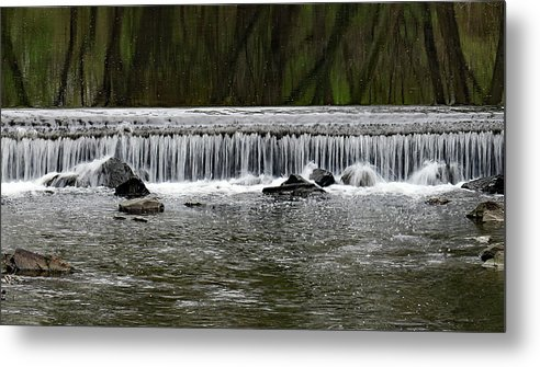 04.14.17_a 0809 Metal Print featuring the photograph Waterfall 003 by Dorin Adrian Berbier