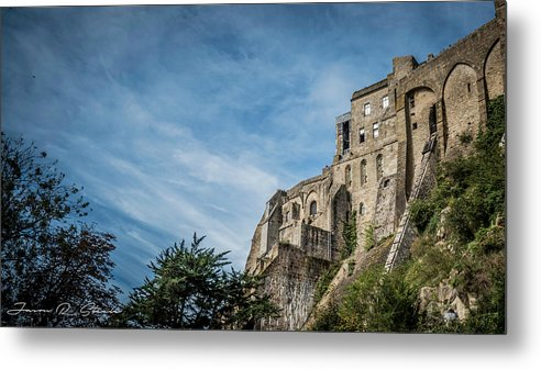 Water Metal Print featuring the photograph Le Mont Saint Michel by Jason Steele
