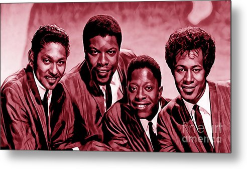 The Coasters Metal Print featuring the mixed media The Coasters Collection by Marvin Blaine
