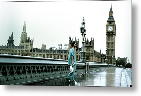 28 Days Later Metal Print featuring the digital art 28 Days Later by Dorothy Binder