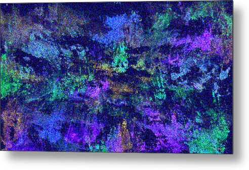 Wilderness Metal Print featuring the painting Abstract Landscape by Hema Rana