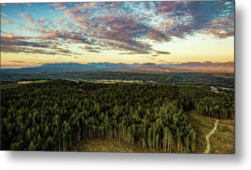 Metal Print featuring the photograph Cascades by Mike Berry