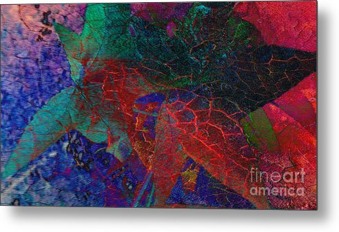 Abstract Metal Print featuring the photograph Celebrate The Season by Beverly Guilliams