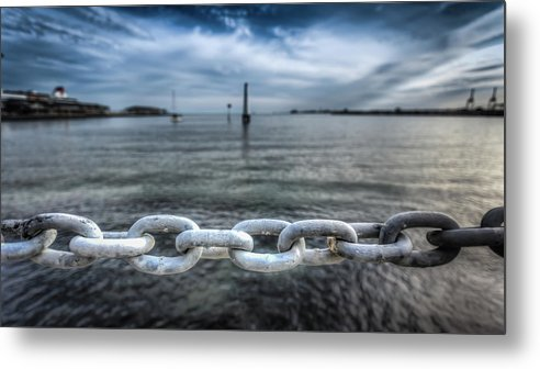 Australia Metal Print featuring the photograph Chains by Paradigm Blue