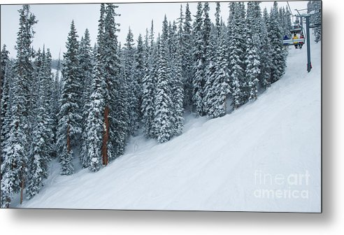 Vail Metal Print featuring the photograph Chair #3 by John Stuart