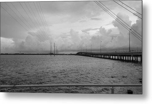 Charlotte Harbor Metal Print featuring the photograph Connections by Ric Schafer