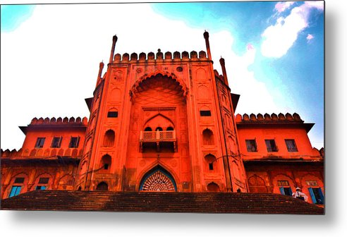Architecture Metal Print featuring the photograph #entrance Gate by Aakash Pandit