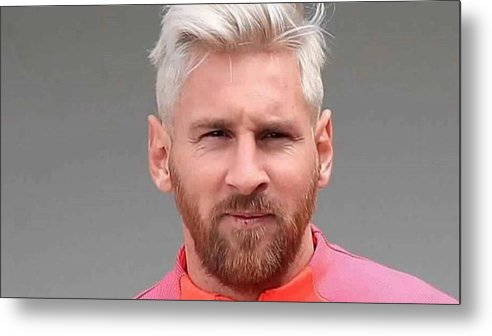 Messi Metal Print featuring the photograph Messi 2016 by Wiliam Smith