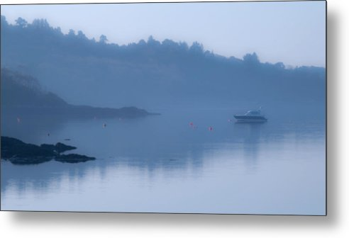 Glengarriff Metal Print featuring the photograph Misty Dawn At Glengarriff by John Perriment