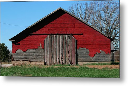 Farm Metal Print featuring the photograph Outbuilding by Grant Groberg
