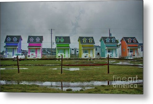 Beach Metal Print featuring the photograph Rainbow After The Storm by Tom Gari Gallery-Three-Photography