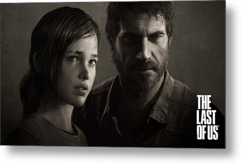 The Last Of Us Metal Print featuring the digital art The Last Of Us by Dorothy Binder